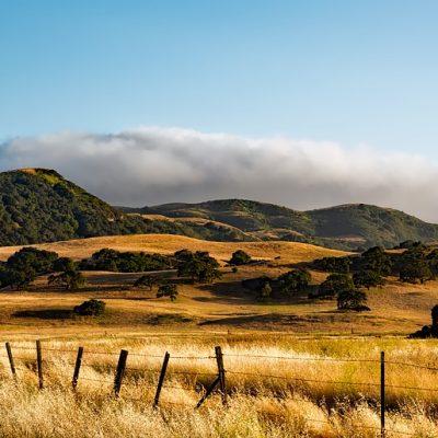 Mountains Scenic Farm California Ranch Landscape
